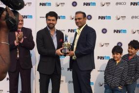 BCCI felicitates Virender Sehwag, DDCA names stands after Viru
