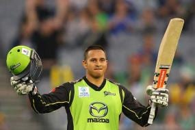 Usman Khawaja boosts Test chances with blazing BBL ton