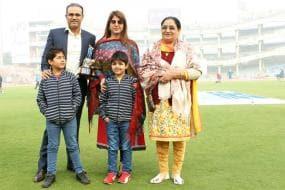 Virender Sehwag thanks Sourav Ganguly, Rahul Dravid, Anil Kumble at BCCI felicitation