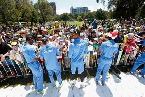 West Indies embrace fans ahead of Boxing Day Test against Australia
