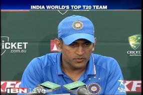 Bowlers did a good job in T20I series, says MS Dhoni