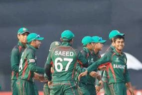 Bangladesh beat Nepal to reach U-19 World Cup semi-finals
