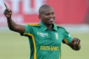 Lonwabo Tsotsobe of South Africa Charged With Match Fixing