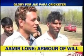Meet Aamir Lone, the cricket star with no arms