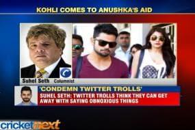 Virat Kohli comes to Anushka Sharma's aid