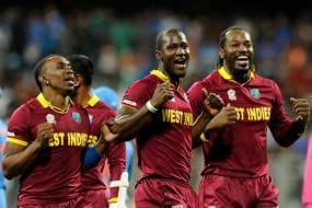 World T20: West Indies players break into 'Champion Dance' after semis win