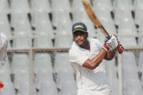 Arindam Ghosh Hits First Ton With Pink Ball in India