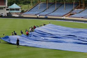 3rd Test: Rain Washes Out Third Day's Play Between India, West Indies