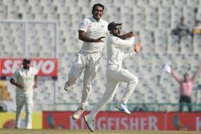 India vs England: Bowlers Put India On Top on Day 1 of Mohali Test