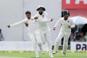 Kuldeep, Jadeja, Rahul Shine on Day 1 of Warm-up Match