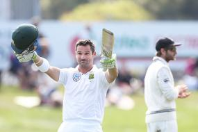 Dean Elgar Hits Century to Rescue South Africa