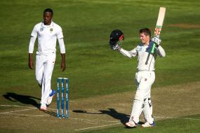 New Zealand A Reach 104 for One After India A Score 447