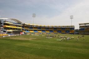 India vs Sri Lanka | Holkar Stadium Ground Staff Use Special Chemical to Counter Dew