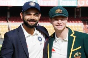 Match Referee Richie Richardson Speaks to Kohli & Smith