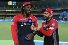 IPL 2017: Interviewer Virat Kohli Hails 'Universe Boss' Gayle