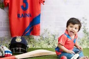 Suresh Raina Dedicates Orange Cap to Daughter Gracia