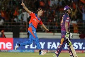IPL 2017: Andrew Tye First Debutant to Take Hat-trick