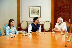 Sachin Tendulkar Shares Thoughts After Athletes' Video Call With PM Modi