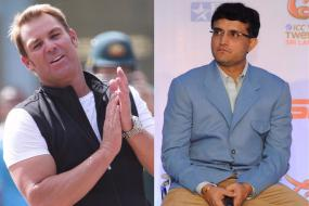 Warne Loses Bet to Ganguly, Will Wear England Jersey for a Day