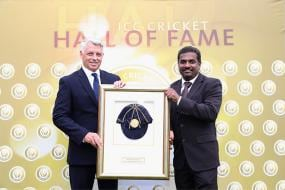 Muttiah Muralitharan Inducted into ICC's Hall of Fame