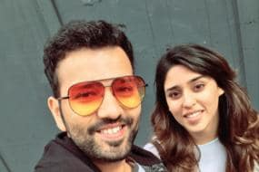 Rohit Sharma Teases His Wife for Picking Style Over Warm Clothes