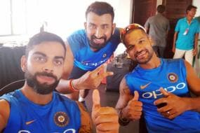 Virat Kohli & Co Bask In the Glory After Galle Heroics