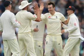 England Thwarted by Rain after Roland-Jones Stars