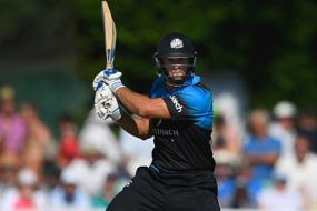Worcestershire's Ross Whiteley Hits Six Sixes in an Over