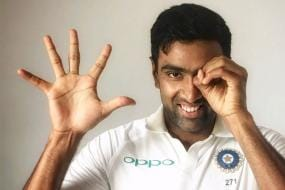 Ashwin Only Sixth Indian Spinner to Reach 50 Test Landmark