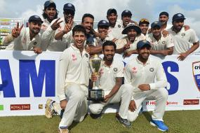 1st September 2015: India Register Maiden Test Series Victory in Sri Lanka