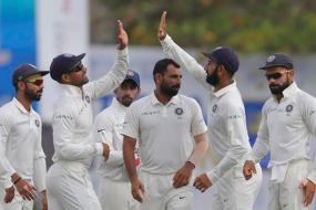 Shami, Ashwin Come to Party After Hardik Hits Fifty on Debut