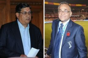 N Srinivasan & Niranjan Shah to Reply to SC Notice Today