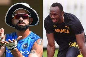 Kohli Invites Bolt to Play Cricket; Says 'You Know Where to Find Me'
