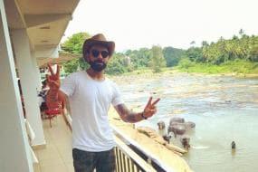 Virat Kohli and Anushka Sharma Enjoy Their Day Out With Elephants