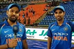 Rohit Sharma Credits Bowlers for Win in Third T20I in Cape Town