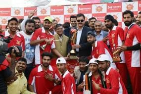 MSG Club Team Lifts the Coveted Wonder Cement Saath:7 Cricket Mahotsav Trophy