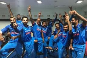 Kohli Does the Bhangra After India Beat New Zealand in Kanpur