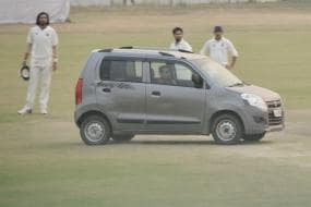 Ranji Match Stopped Briefly After Man Drives Car Onto Pitch in Delhi