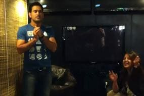 Dhoni Dances to John's Desi Boyz Number, Sakshi Rolls on the Floor