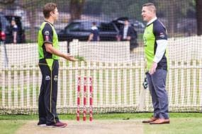 WWE Star John Cena and Shane Watson Have a Ball Playing Cricket