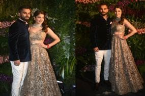 SRK to Sachin, Cine and Sports Stars Shine at Virushka's Mumbai Reception