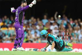 Watch | Big Bash League Sees First Ever Obstructing the Field Dismissal
