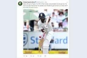 Cricket South Africa Posts Ashwin's Photo In Tweet Regarding Pujara, Fans Have a Field Day