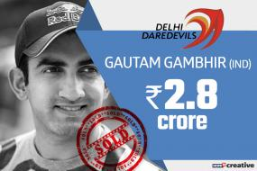 IPL Auction 2018: Delhi Turn to Gambhir, Maxwell to End IPL Drought