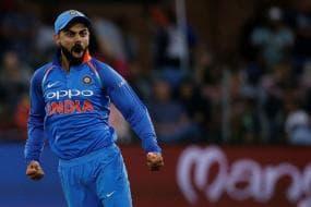 Virat Kohli Takes 100th Catch, Joins Elite List of Indian Fielders