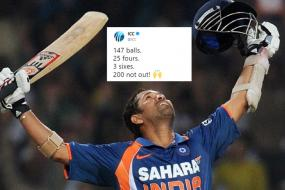 Eight Years Ago Today, Sachin Tendulkar Became the First Man to Score a 200* in ODI