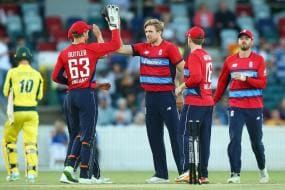 David Willey Stars in England's Easy T20 Win Over PM XI
