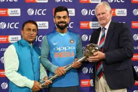 Kohli Thanks Fans After Getting ICC Test Championship Mace