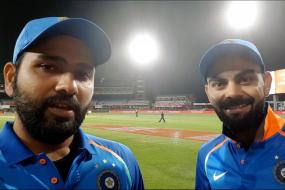 Kohli & Rohit Do a Selfie Interview for Fans After '25-year Wait'
