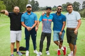 Rohit, Chahal and Dinesh Karthik Have a Field Day on Golf Course